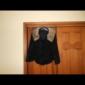 Jackets & Blazers - Genuine Persian Lamb//Mink Trim